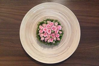 Květinová dekorace pro firmy