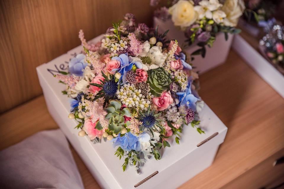Svatební kytice se sukulenty. Svatební floristika Klára Uhlířová Brno