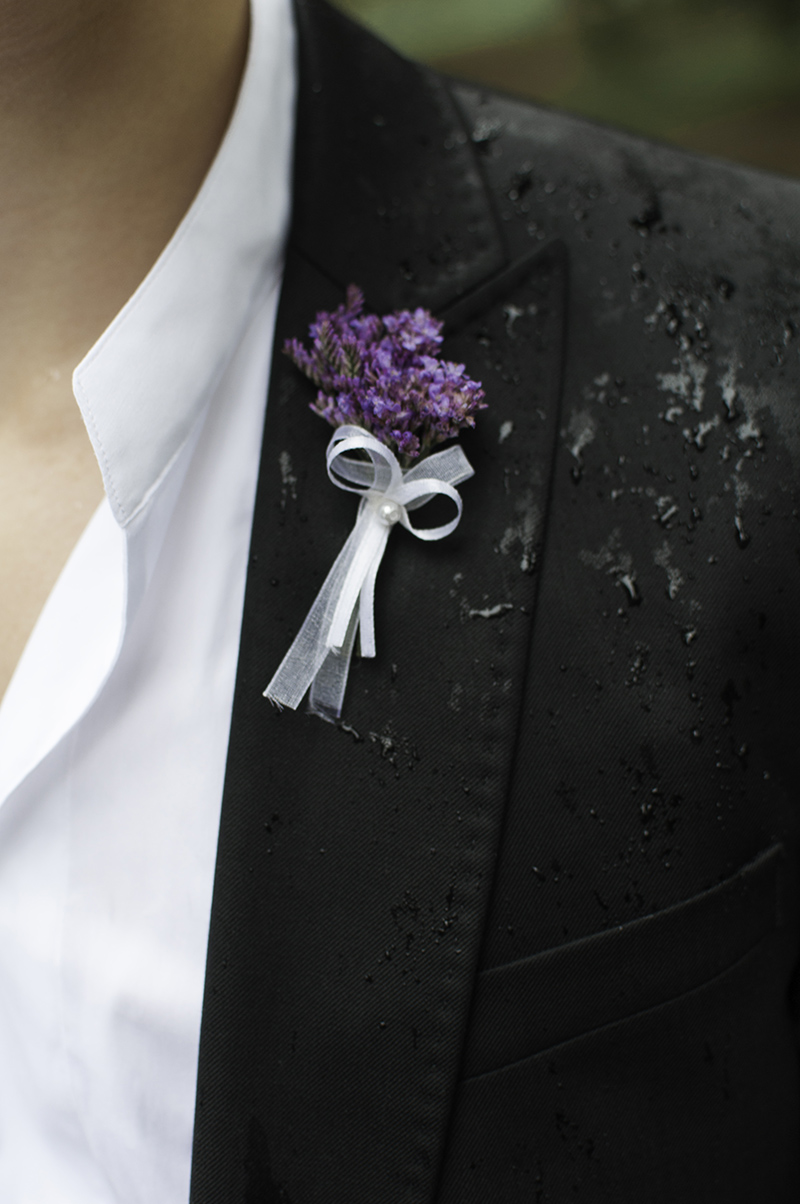 Vývazek pro svatebčany. Svatební květiny Klára Uhlířová Brno