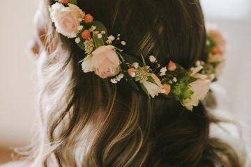 Věneček pro nevěstu. Svatební květiny Klára Uhlírová